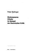 Shakespeares Othello im Spiegel der literarischen Kritik