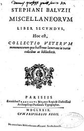 Miscellaneorum