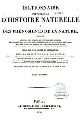 Dictionnaire Pittoresque D'Histoire Naturelle et Des Phenomenes de la Nature