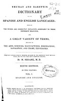 Neuman and Barettis Dictionary of the Spanish and English Languages PDF