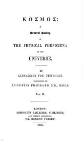 Kosmos: A General Survey of Physical Phenomena of the Universe, Volume 2
