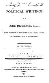 The speech of John Dickinson ... May 24th, 1764 ... praying the king for a change of the government of the province ... 1764