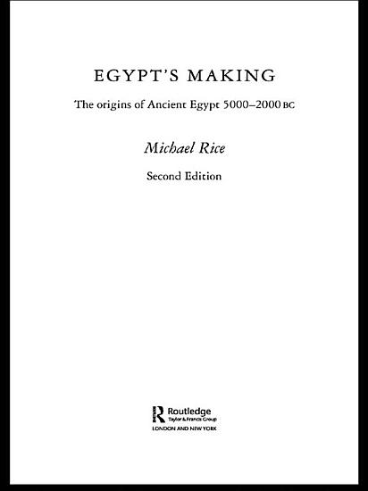Egypt s Making PDF