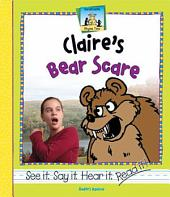 Claire's Bear Scare