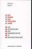 Der Roman der f  nfziger Jahre PDF