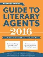 Guide to Literary Agents 2016 PDF