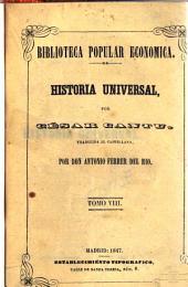 Historia universal: Volumen 8
