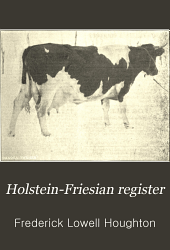 Holstein-Friesian Register: Volume 28, Part 2