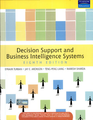 Decision Support And Business Intelligence Systems 8 E