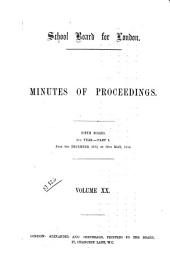 Minutes of Proceedings: Volume 20