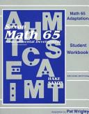 Math 65 Adaptation