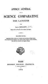 Aperȩu général de la science comparative des langues