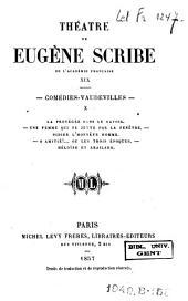Théâtre de Eugène Scribe: Volumes19à20