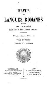Revue des langues romanes: Volume22