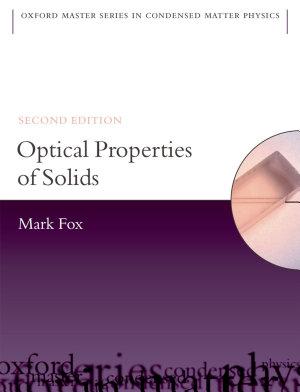 Optical Properties of Solids