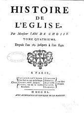 Histoire de l'Eglise: Volumes4à5