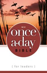 Niv Once A Day Bible For Leaders Ebook Book PDF