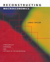 Reconstructing Macroeconomics PDF