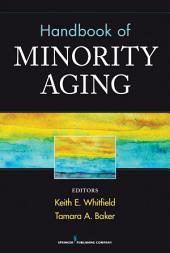Handbook of Minority Aging
