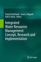 Integrated Water Resources Management  Concept  Research and Implementation PDF
