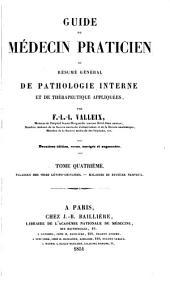 Guide du médecin praticien; or, Résumé général de pathologie interne et de thérapeutique appliquées: Volume5