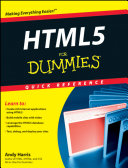 HTML5 For Dummies Quick Reference