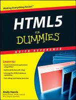 HTML5 For Dummies Quick Reference PDF