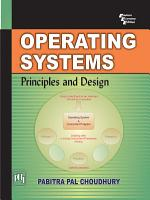 Operating Systems  Principles And Design PDF