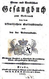 Brem- und Verdisches Gesangbuch zum Gebrauch bey dem öffentlichen Gottesdienste und bey der Privatandacht
