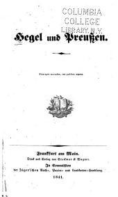 Hegel und Preussen ...