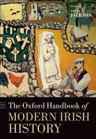 The Oxford Handbook of Modern Irish History PDF