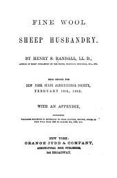 Fine Wool, Sheep Husbandry