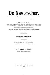 De Navorscher: Een middel tot gedachtenwisseling en letterkundig verkeer tuschen allen, die iets weten, iets te vragen hebben of iets kunnen oplossen, Volume 40;Volume 1890
