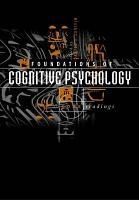 Foundations Of Cognitive Psychology
