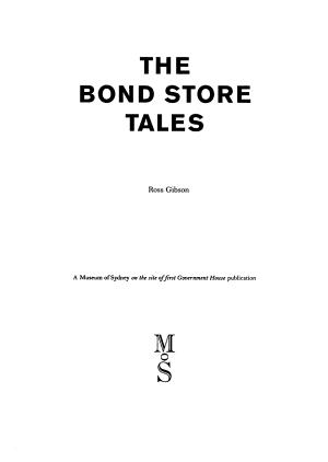 The Bond Store Tales PDF