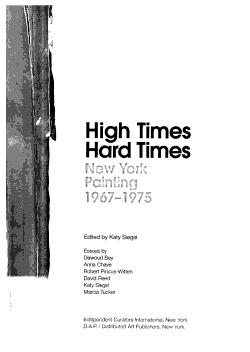 High Times  Hard Times PDF