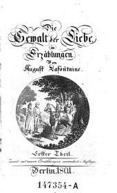 Die Gewalt der Liebe in Erzählungen. 2., verm. Aufl: Band 1