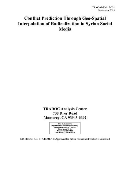 Publications Combined  The Role of Social Media in Crisis   Data Collection By The Public And Private Sectors As A Strategic Asset And To Prevent Terrorism PDF