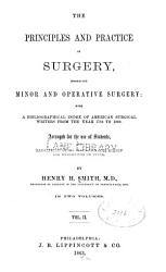 The Principles And Practice Of Surgery Embracing Minor And Operative Surgery V 2 Book PDF