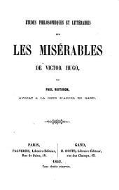 Études philosophiques et littéraires sur Les Misérables de Victor Hugo