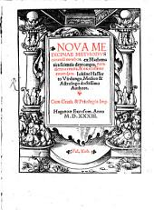 Nova medicinae methodus