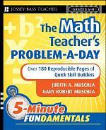 The Math Teacher's Problem-a-Day, Grades 4-8