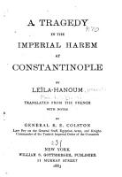 A Tragedy in the Imperial Harem at Constantinople PDF