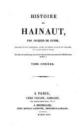 Histoire de Hainaut: Volume11