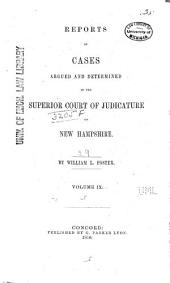 The New Hampshire Reports: Volume 29