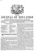 The Journal of Education for the Province of Quebec