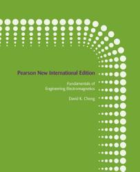 Fundamentals of Engineering Electromagnetics  Pearson New International Edition PDF