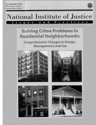 Solving Crime Problems In Residential Neighborhoods Book PDF
