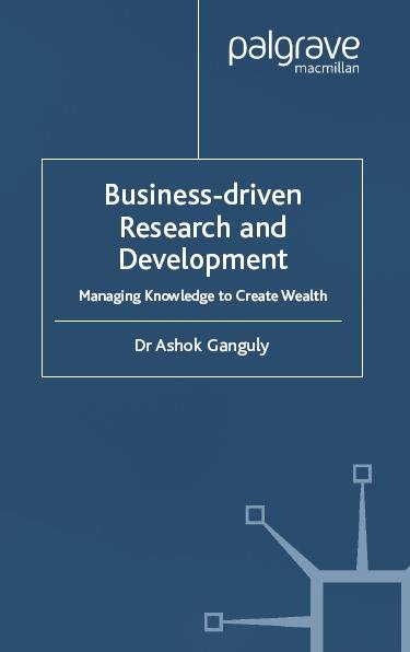Business Driven Research Development