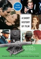 A Short History of Film  Third Edition PDF